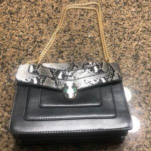 Python print crossbody handbag